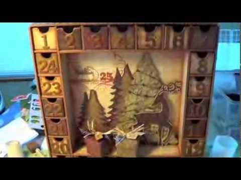 kaisercraft advent calendar assembly instructions