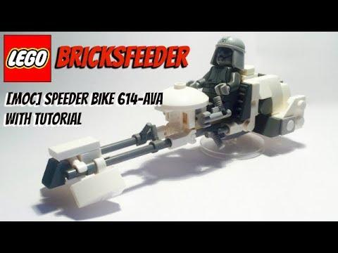 lego speeder bike instructions
