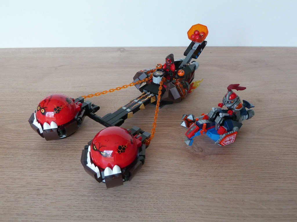 lego nexo knights beastmaster chaos chariot instructions