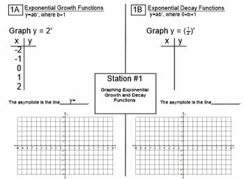 Exponential growth and decay practice pdf