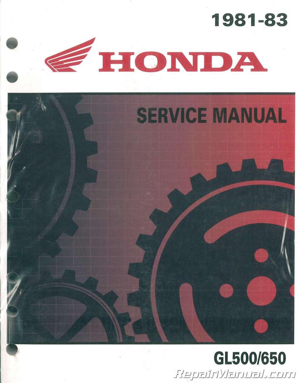 1981 honda gl500 manual pdf