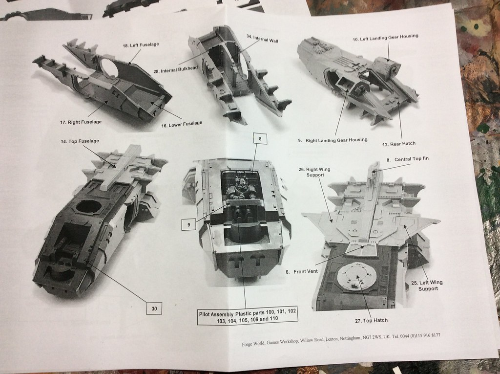 sisters of battle exorcist assembly instructions