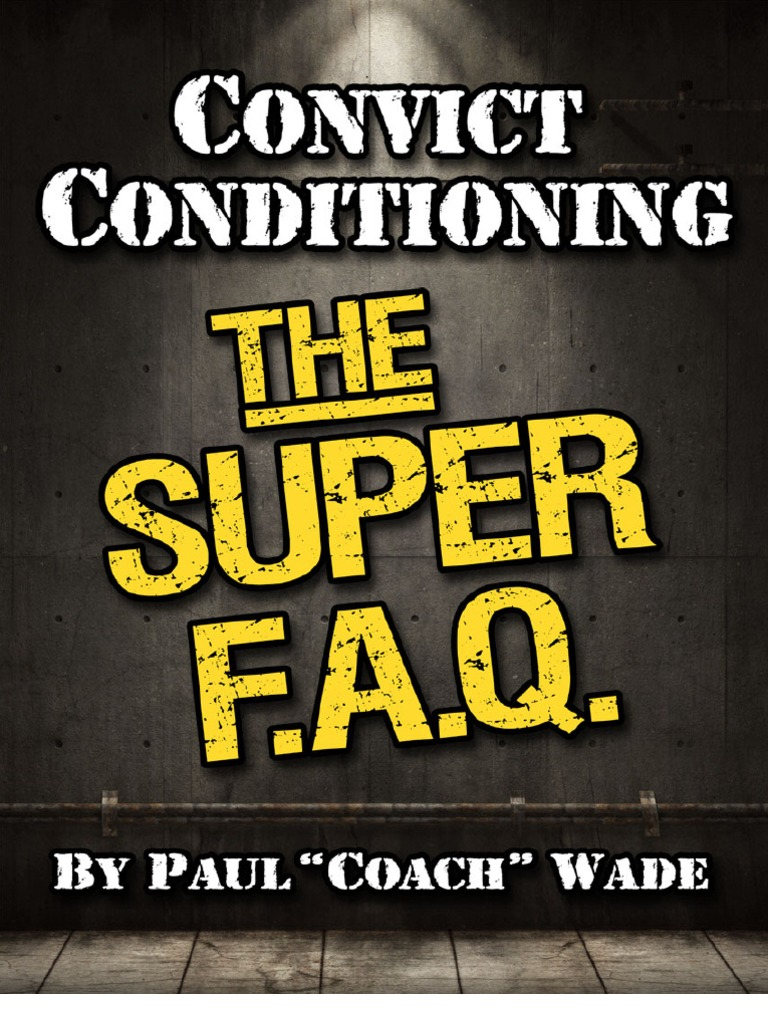 Convict conditioning 2 pdf free download