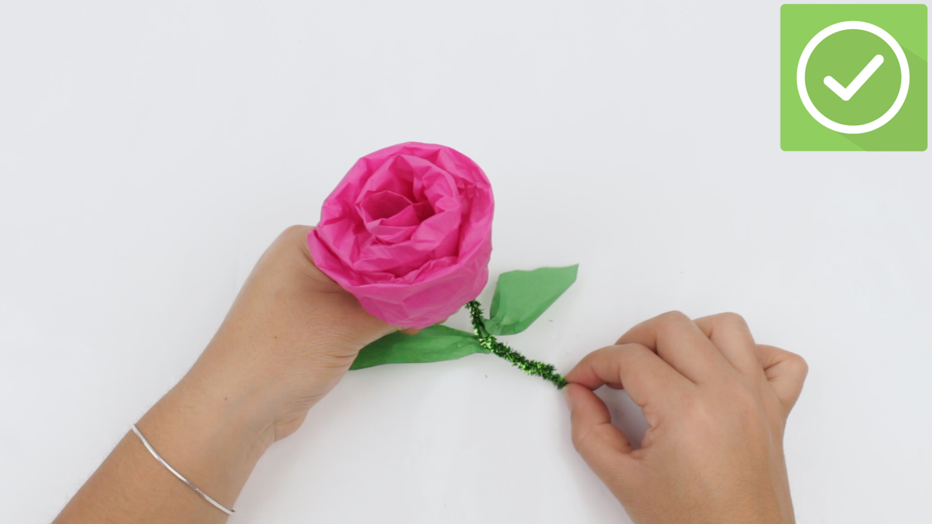toilet paper rose instructions