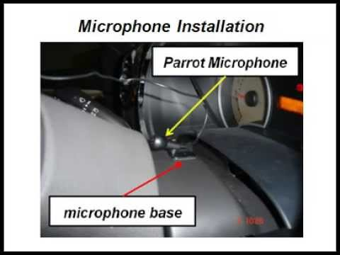 parrot bluetooth installation instructions