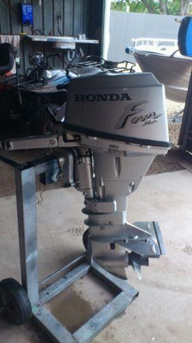 Honda 15hp 4 stroke outboard motor manual