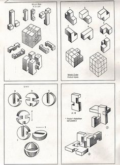 3d wooden puzzles instructions