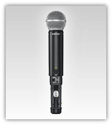 Shure sm58 wireless microphone manual