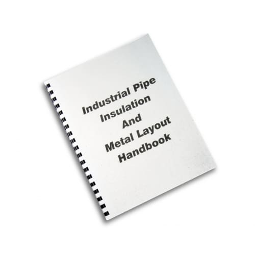 Industrial pipe insulation and metal layout handbook