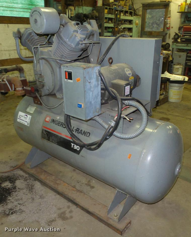 Ingersoll rand t30 compressor manual