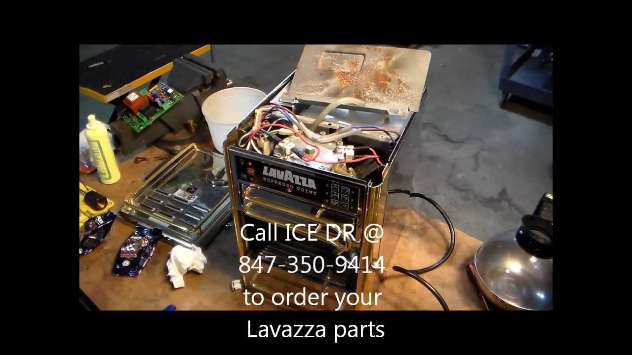 lavazza espresso point machine repair manual
