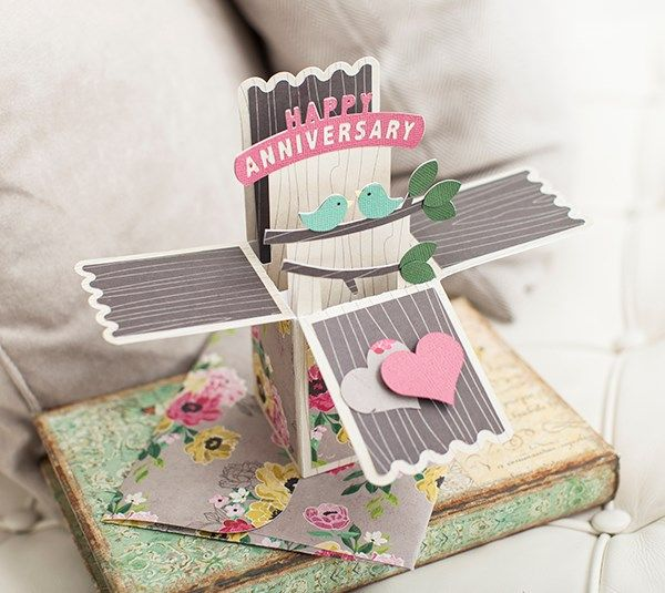cricut all occasion box cards instructions