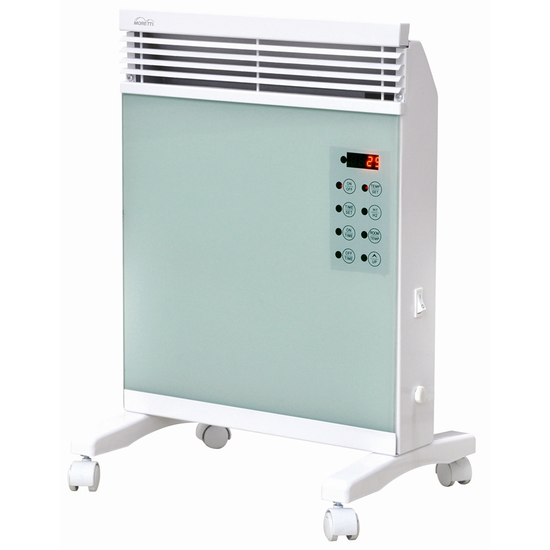 moretti panel convection heater instructions