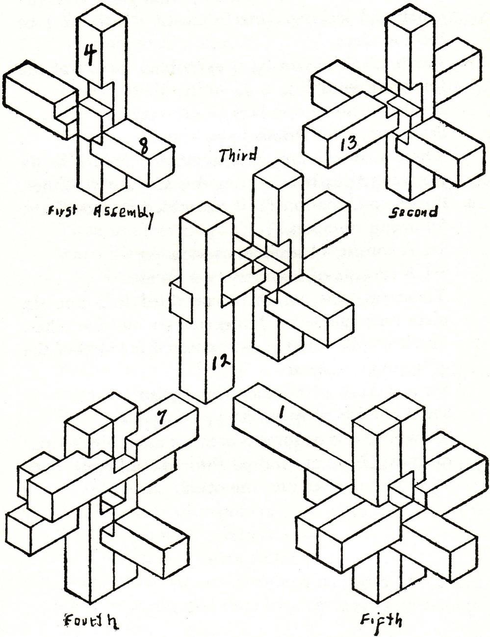 3d wooden puzzles instructions