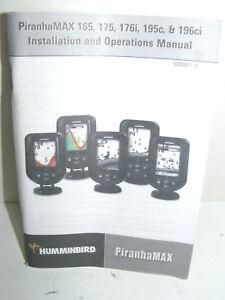 Humminbird piranhamax 175 pt manual therapy