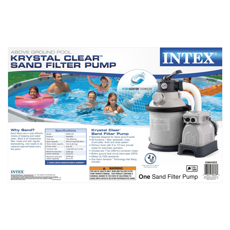 intex sand filter pump model sf20110 manual