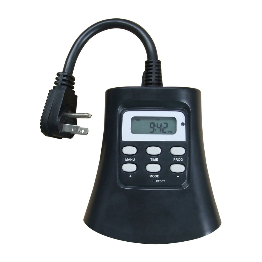 noma 8 outlet power bar with timer instructions