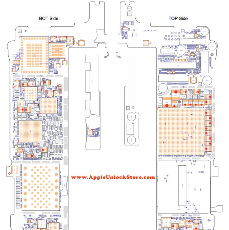 iphone 6  plus circuit diagram service manual schematic