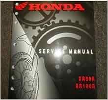 honda xr80r service manual free download