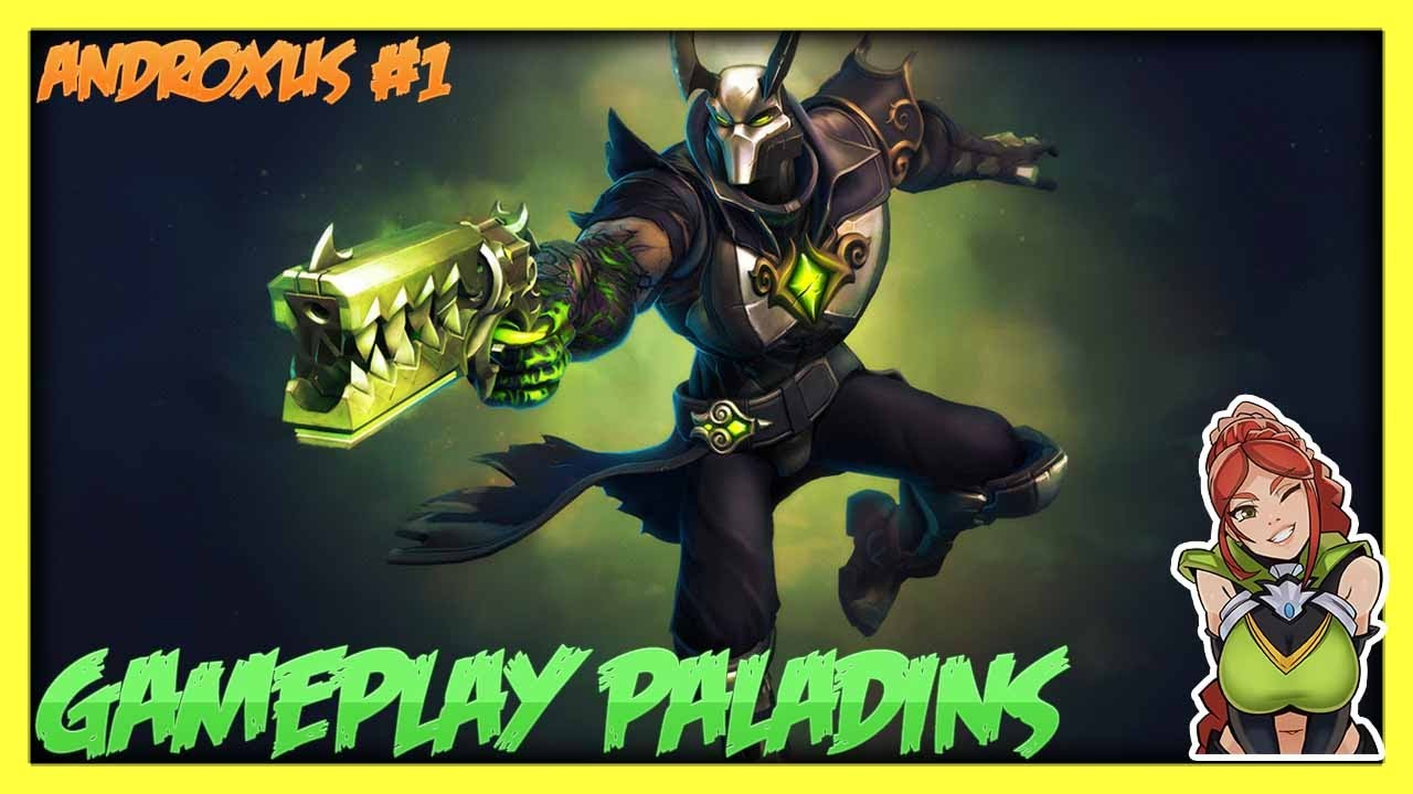 Androxus paladins how to get revolver