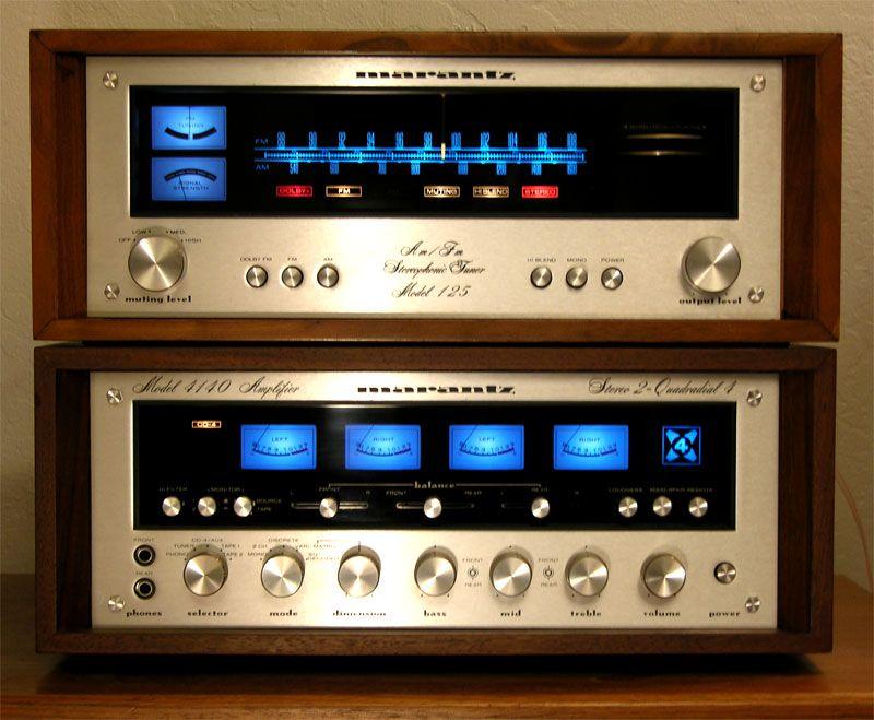 Vintage marantz model 4140 amplifier user manual pdf