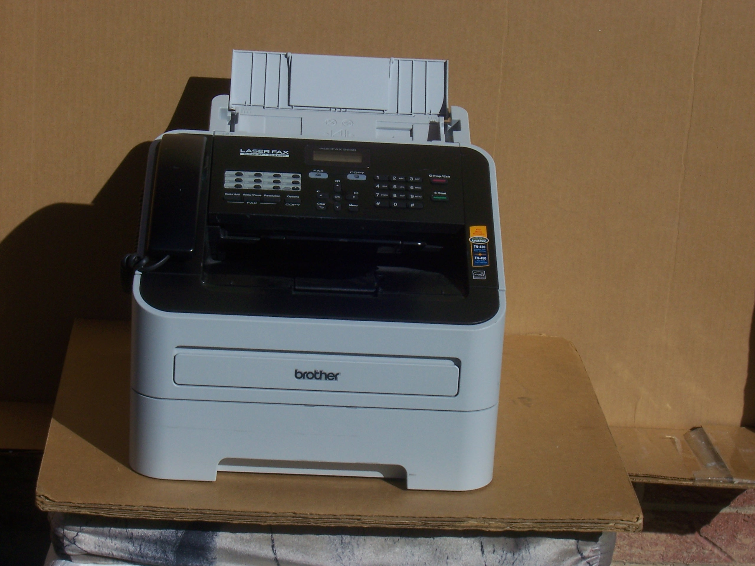 Brother laser fax super g3 user manual