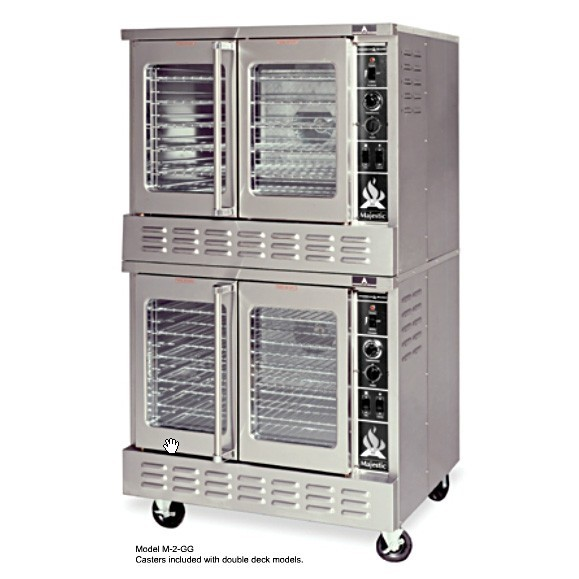 chef condor convection double oven manual