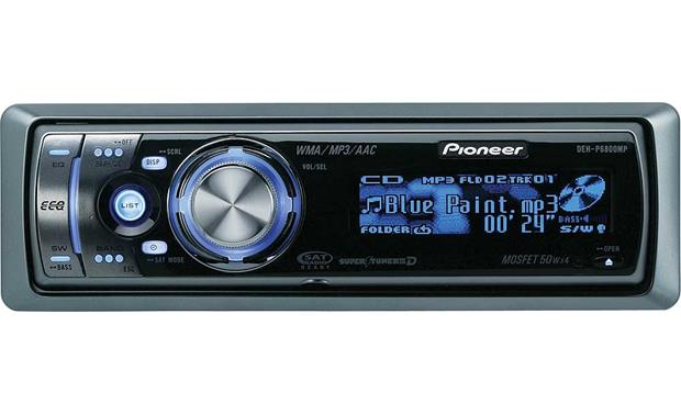 pioneer wma mp3 car stereo manual