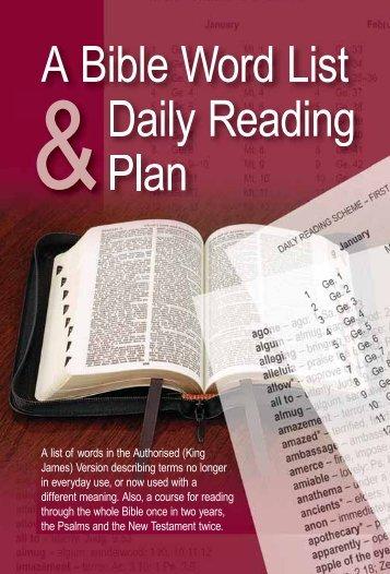 Bible spelling bee word list pdf