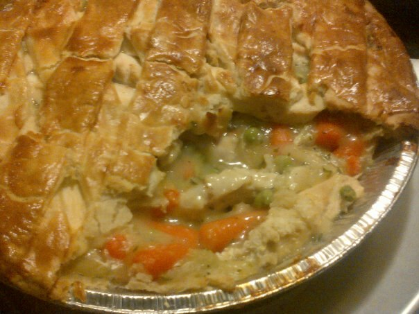 swiss chalet chicken pot pie cooking instructions