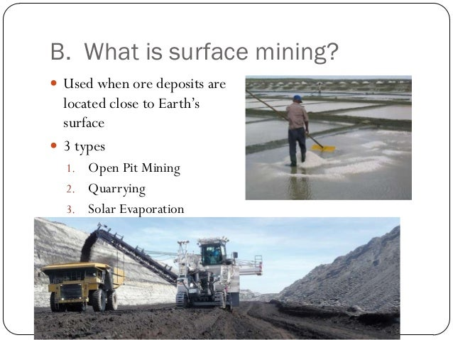 What is surface mining pdf