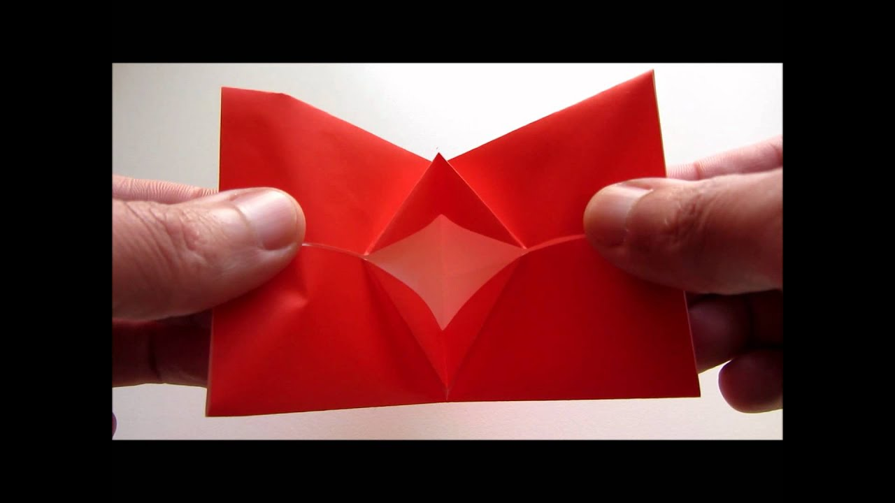 kissing lips origami instructions