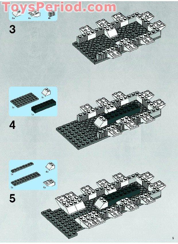 Lego republic gunship 7676 instructions