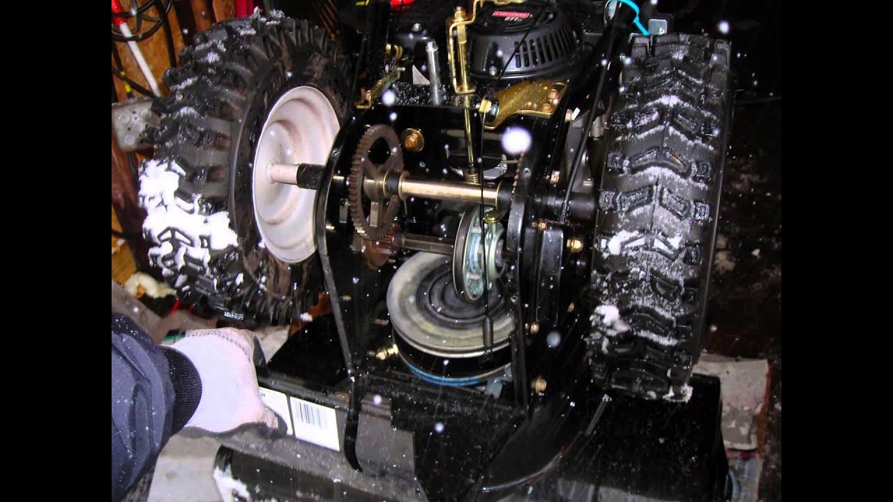 Mastercraft snowblower 10.5 hp 29 manual