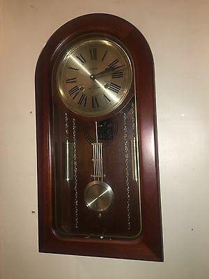 Waltham 31 day chime wall clock manual