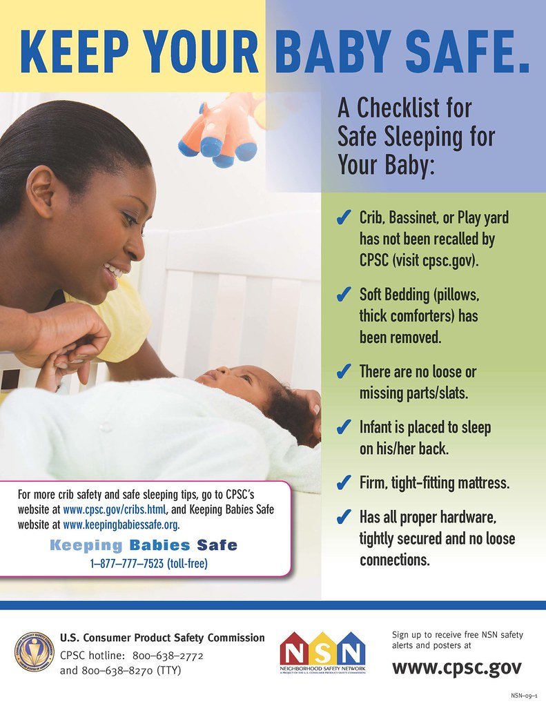 Safe sleeping a guide to assist sleeping your baby safely