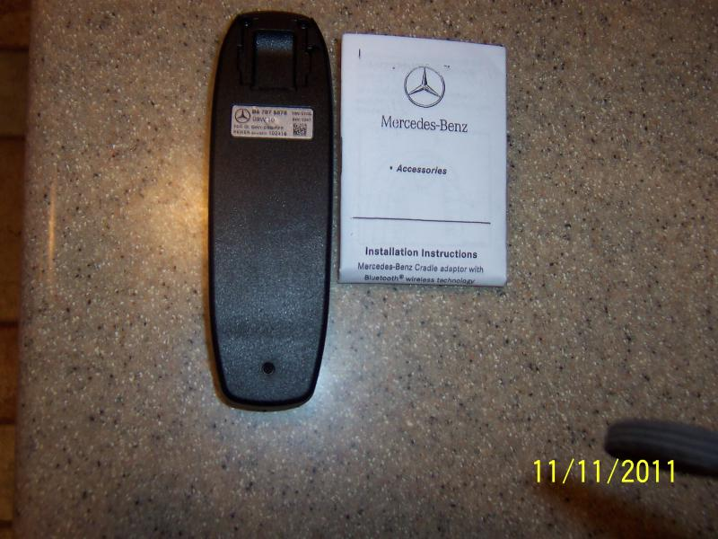 Mercedes benz bluetooth puck instructions