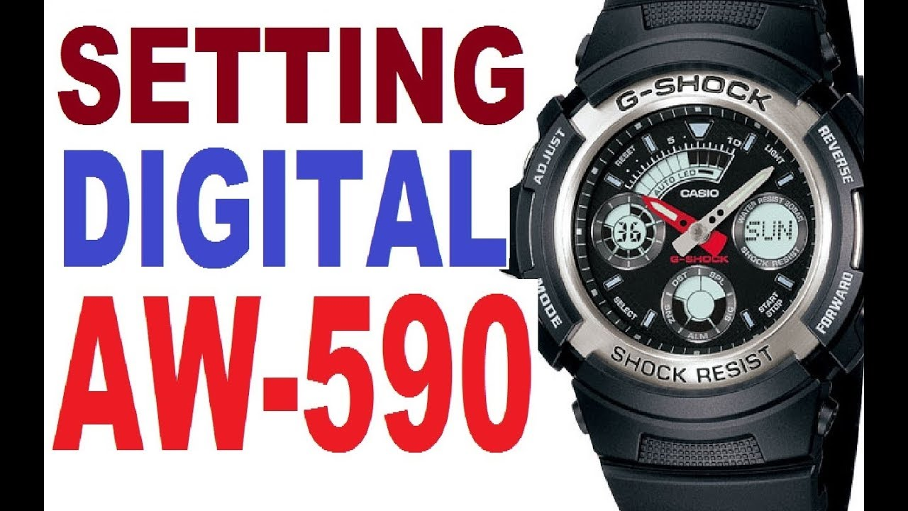 Casio g shock 4778 manual
