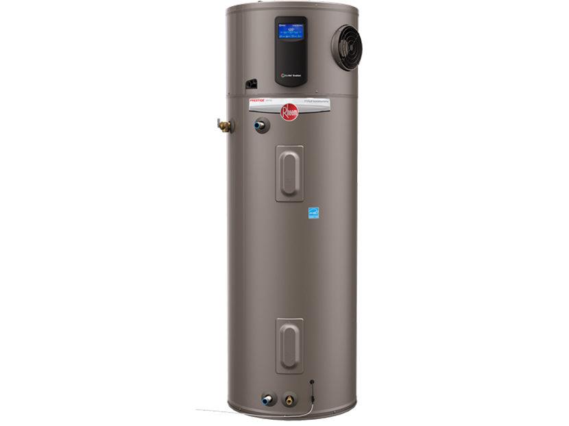 rheem hybrid water heater manual