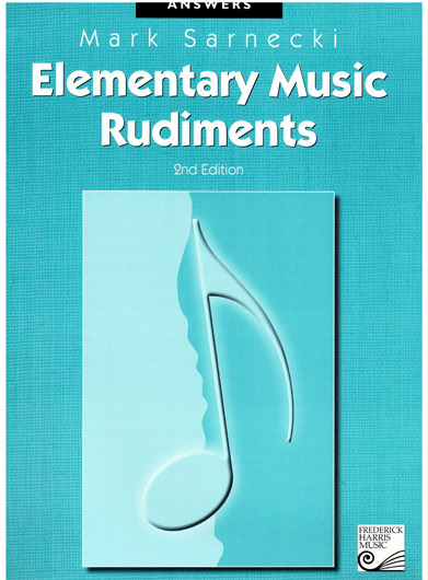 The complete elementary music rudiments 2nd edition answer book pdf