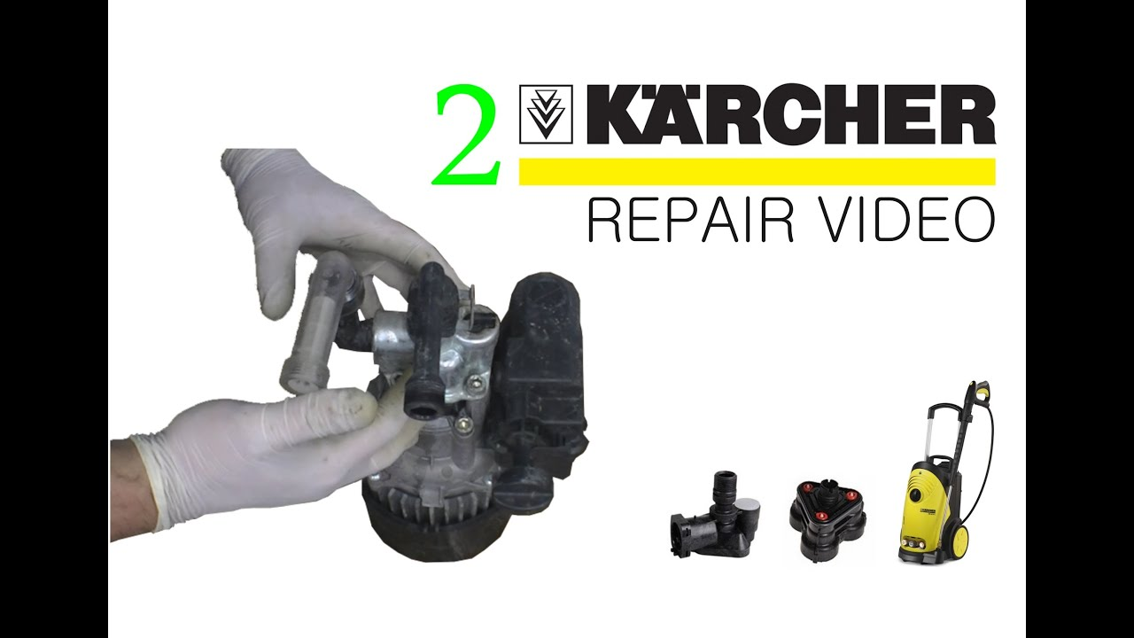 free karcher presher washer repair manuals