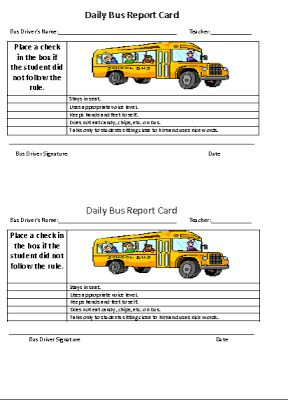 Report card policy and guidelines