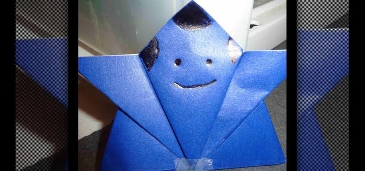 Origami samurai warrior instructions