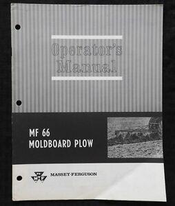 Massey ferguson 135 operators manual