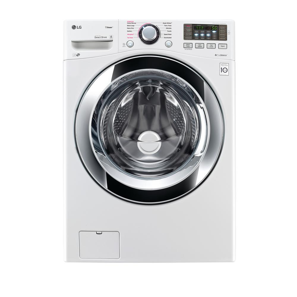 lg front load washer manual