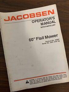 Jacobsen tri king 1671d manual