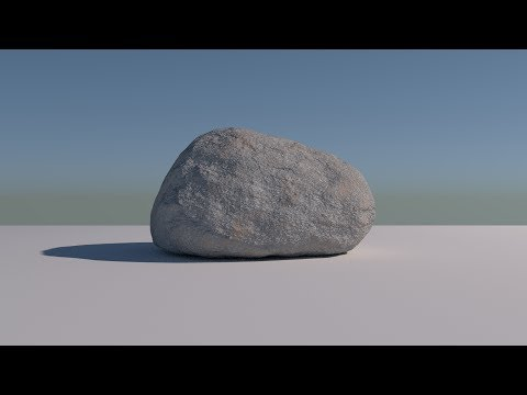 Blender how to draw rocks