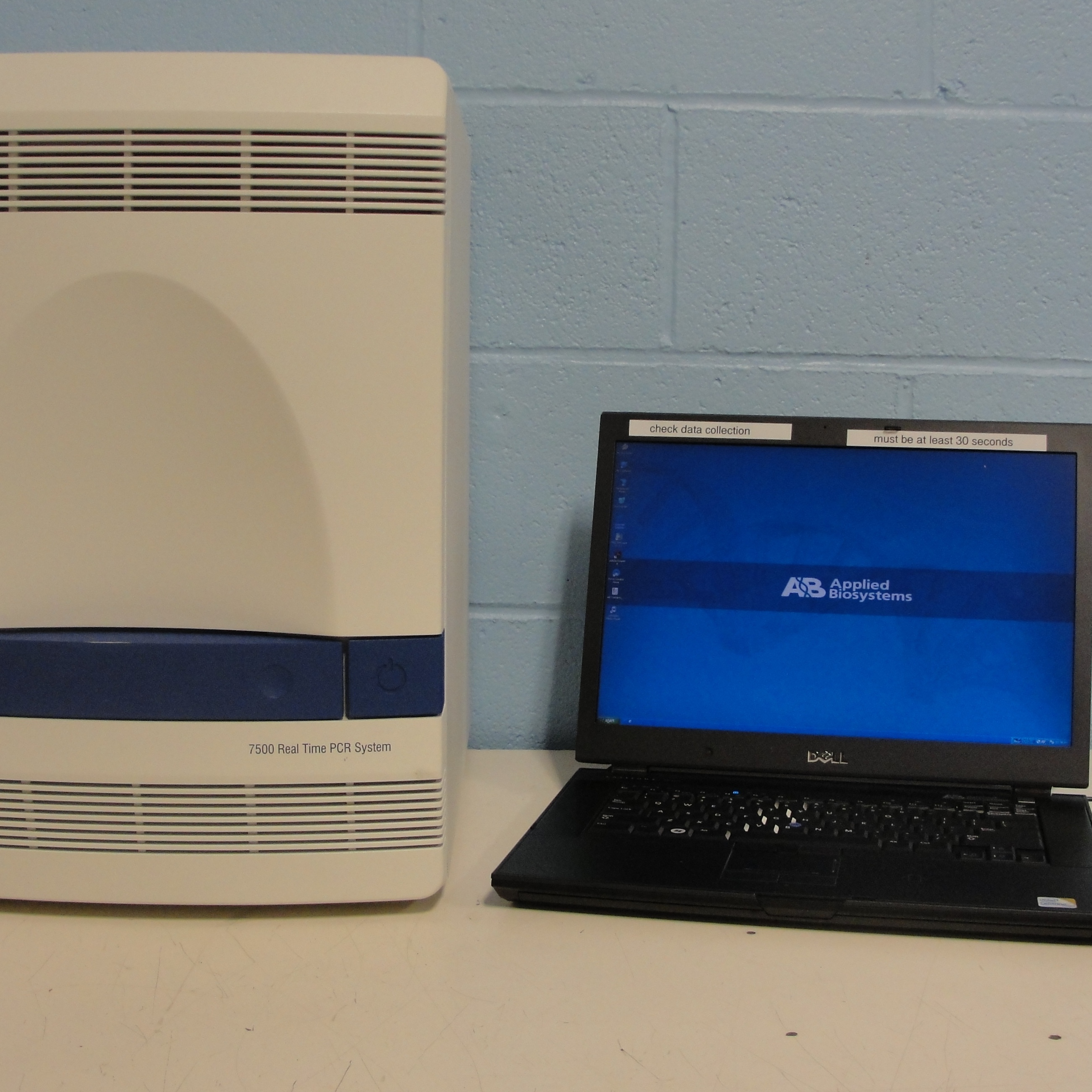 Applied biosystems 7500 fast real time pcr system manual
