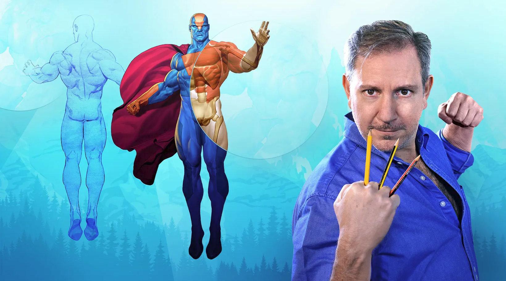 Aprende a dibujar comic anatomia de superheroes pdf