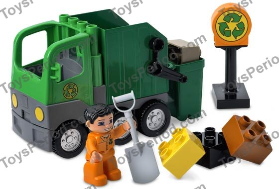 lego duplo garbage truck instructions